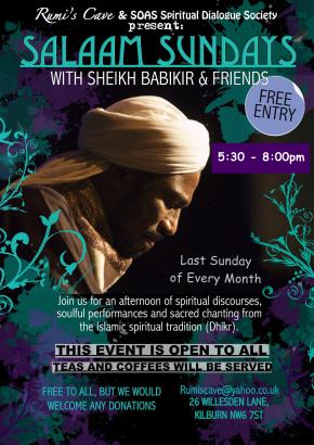 SALAAM SUNDAYS w/ Sheikh Babikir & Moustafa Hassan (Artist &Calligrapher)