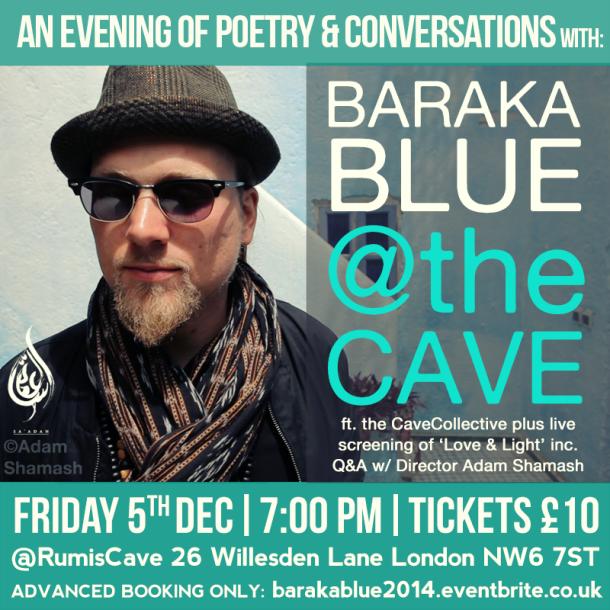 BARAKA BLUE AT THE CAVE 2014