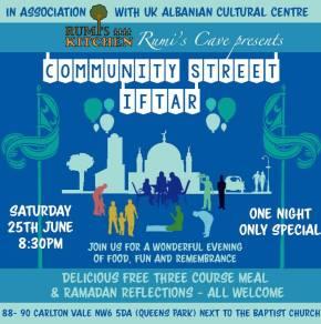 Rumi's Community StreetIftar