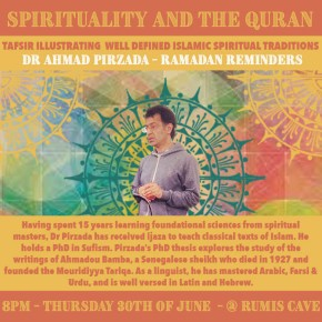 Talk: 'The spiritual and social significance of Ramadan.' by Dr. Ahmad Pirzada