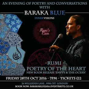 Baraka Blue – An Evening ofPoetry