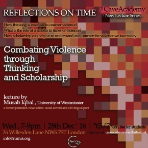Lecture:Combating Violence through Thinking andScholarship