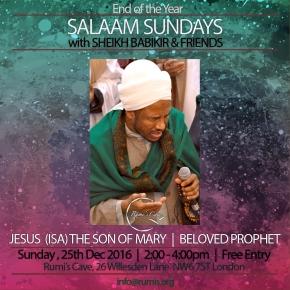 SALAAM SUNDAYS: Jesus Christ (Isa) – the Son of Mary – BelovedProphet