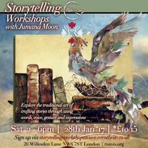 STORYTELLING WORKSHOPS WITH JUMANA MOON –
