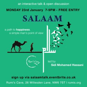 Talk: Salaam – a path to happiness