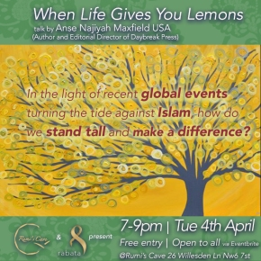 When Life Gives You Lemons – A Talk by Anse Najiyah Maxfield(USA)