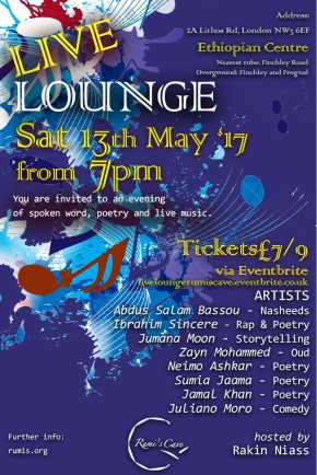 Live Lounge – Acoustic & Poetry Night