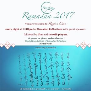 Ramadan 2017 at Rumi'sCave