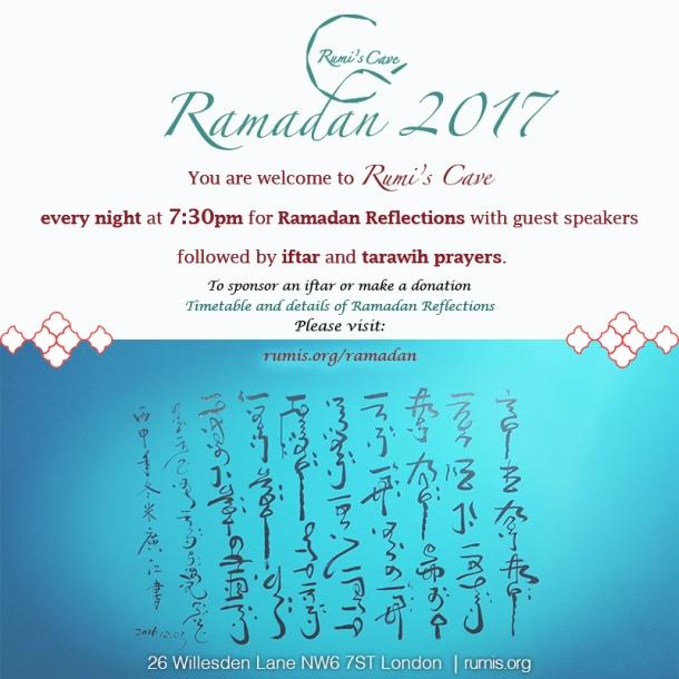 Ramadan Timetable poster